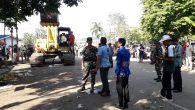 Permalink ke TNI Bantu Pemkab HST Tertibkan Pasar Kramat Barabai