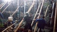 Permalink ke Kejar Target, Satgas TMMD Kodim 0735/Surakarta Kerja Lembur Malam Hari