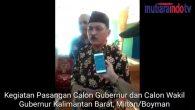 Permalink ke Kegiatan Cagub dan Cawagub Kalimantan Barat, Milton – Boyman