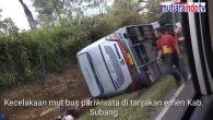 Permalink ke Kecelakaan Maut Bus Pariwisata di tanjakan Emen Kabupaten Subang