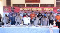 Permalink ke Polisi Tetapkan 45 Oknum Anggota PSHT Sebagai Tersangka Dalam Acara Konferensi Pers yang dipimpin Oleh Kabid Humas Polda Jatim